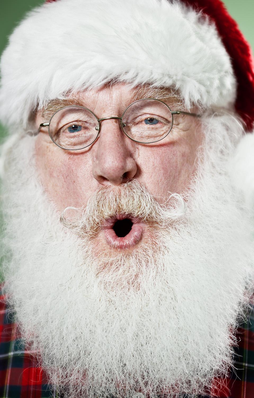 real santa claus beard