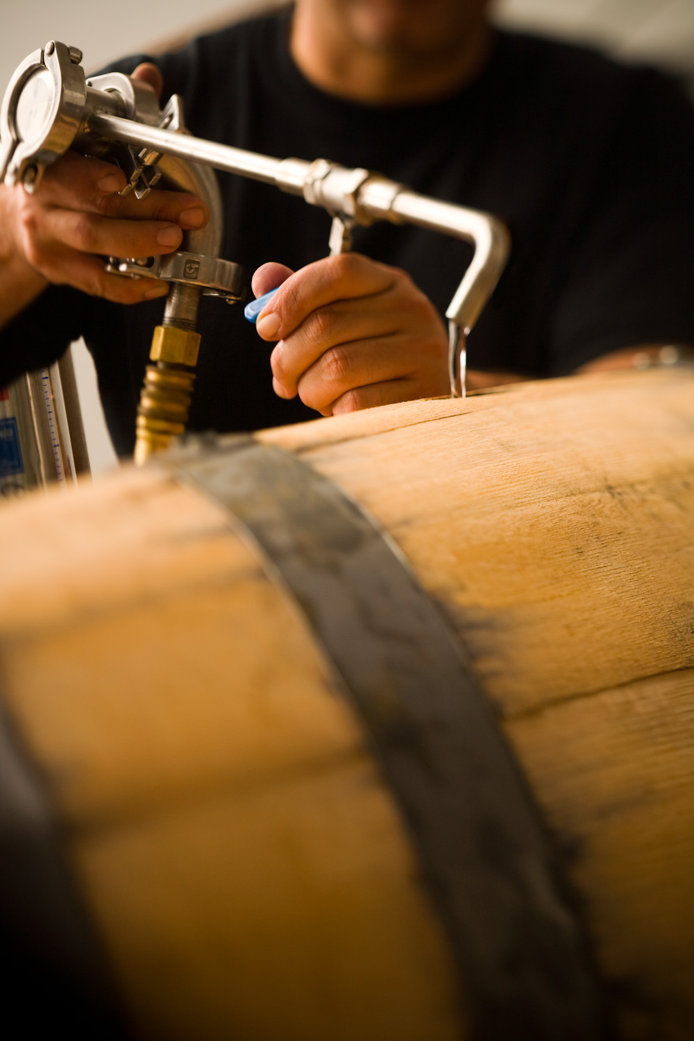 Filling House Spirits Whiskey Barrels