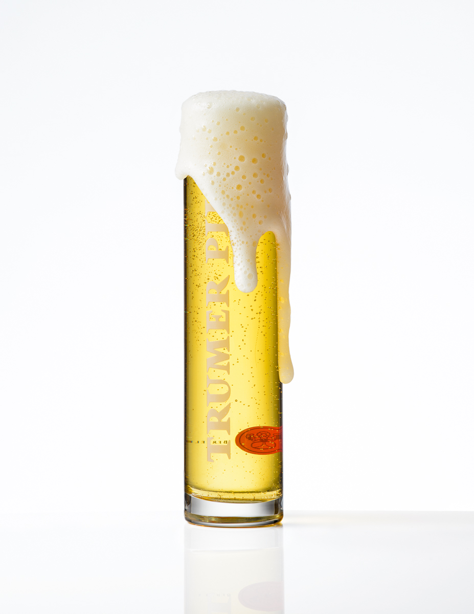 Trumer Beer head