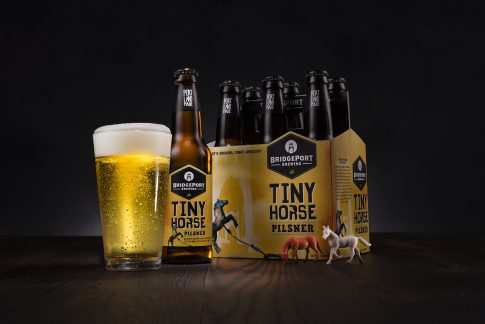 Bridgeport Brewing Tiny Horse pilsner six pack